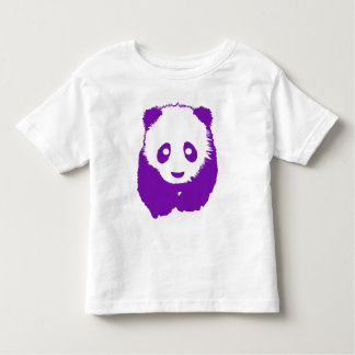Purple Panda Toddler T-shirt