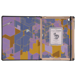 Purple Panels Cases For iPad