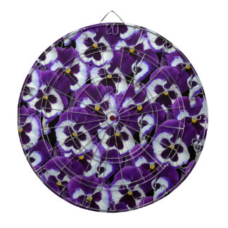 Purple_Pansies_Bouquet,_. Dartboard