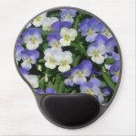 Purple Pansies Gel Mouse Pad