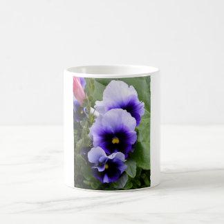 Purple Pansies Mug