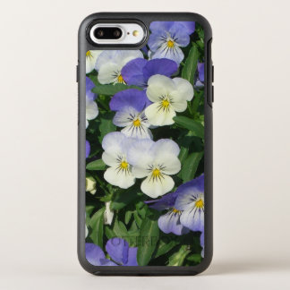 Purple Pansies OtterBox Symmetry iPhone 8 Plus/7 Plus Case