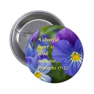 Purple Pansy - Cheerfulness Pins