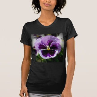 Purple Pansy Close Up T-Shirt