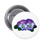 Purple Pansy Duo Buttons