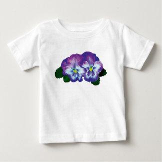 Purple Pansy Duo Infants Tshirt