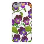 Purple Pansy Garden Flowers iPhone 6 case iPhone 6 Case