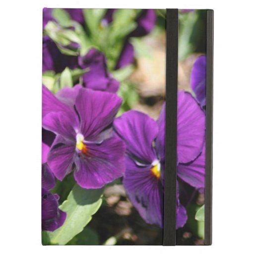 Purple Pansy iPad Air Cover