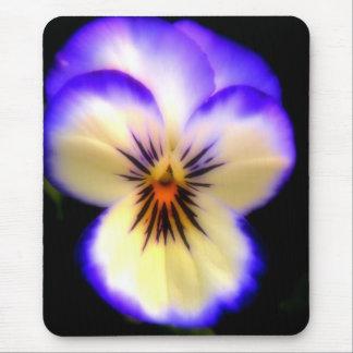 Purple Pansy Mouse Pad