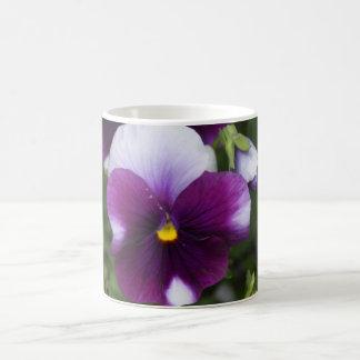 Purple Pansy Mug