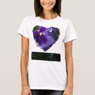Purple Pansy T-Shirt