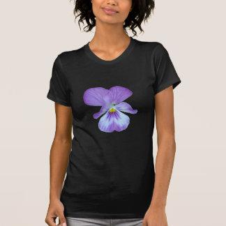 Purple Pansy Tee Shirts