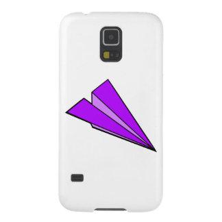 Purple Paper Airplane Galaxy Nexus Cover
