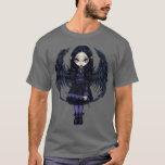 Purple Paper Hearts gothic fairy Shirt