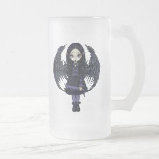 Purple Paper Hearts Mug