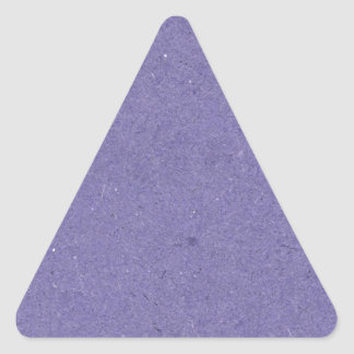 Purple Paper Texture Triangle Sticker