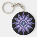 Purple Paradise 19 Keychain