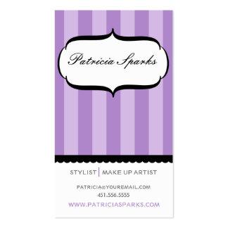 Purple Parlour Business Card