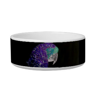 Purple Parrot Bowl