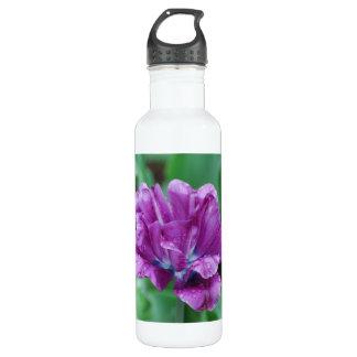 Purple Parrot Tulip 24oz Water Bottle
