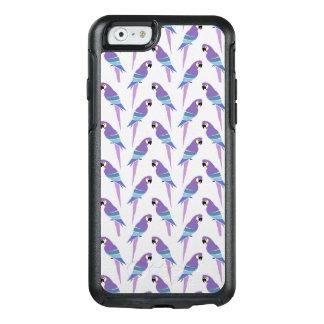 Purple Parrots OtterBox iPhone 6/6s Case