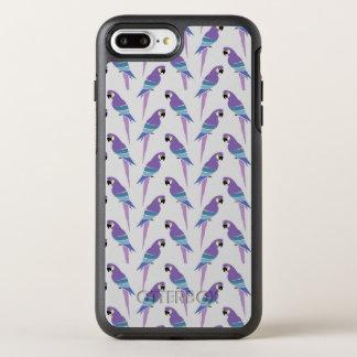 Purple Parrots OtterBox Symmetry iPhone 8 Plus/7 Plus Case