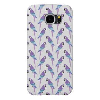 Purple Parrots Samsung Galaxy S6 Case
