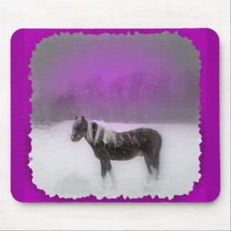 Purple Paso mouse pad