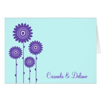PURPLE PASSION AVEC BLUE CARD