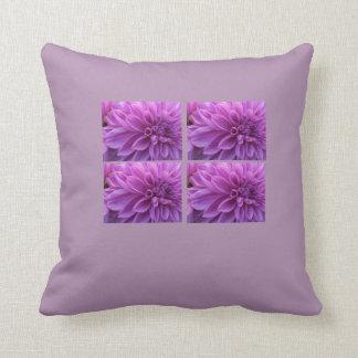 Purple Passion Flower Garden Pillow