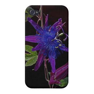Purple Passion Flower iPhone Case