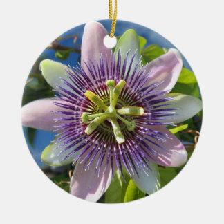 Purple Passion Flower Ornament