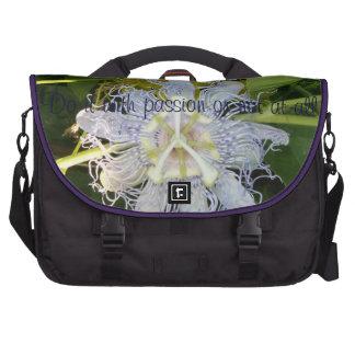 Purple Passion Flower Wildflower Laptop Bag