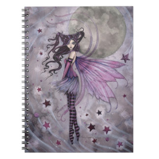 Purple Passion Gothic Fairy Fantasy Art Notebook