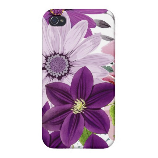 Purple Passion- Case For iPhone 4