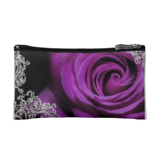 Purple Passion Lace Cosmetic Bag