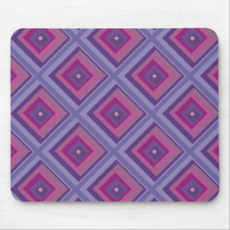 purple passion lavender fields diamond pattern art mouse pad