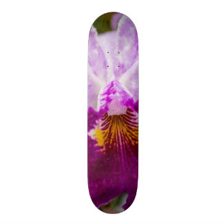 Purple Passion Orchid Skateboard Deck