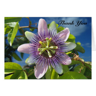 Purple Passion Thank You Card