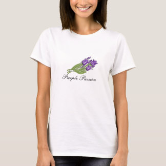Purple Passion Tulips T-Shirt