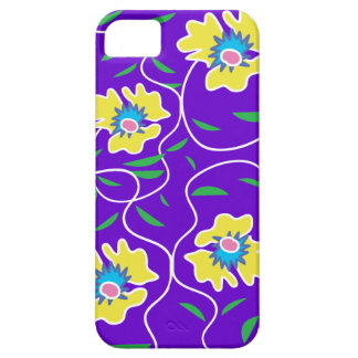 Purple Passion Vine Flower iPhone 5 Case-Mate Case