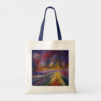 Purple Path Tote Bag