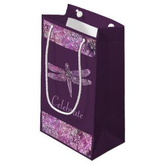 Purple Patina: Dragonfly Small Gift Bag