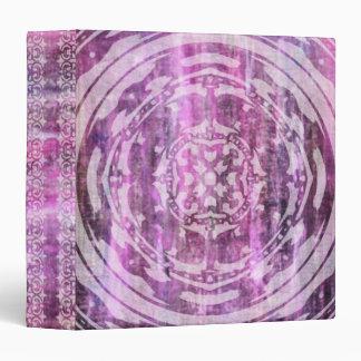 Purple Patina: Mandala Mixed Patterns Binder