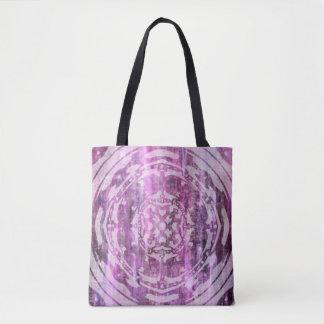 Purple Patina: Mandala Tote Bag