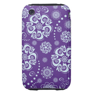 Purple Patter iPhone 3G/3GS Case