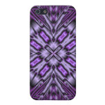 Purple Pattern Case For iPhone 5