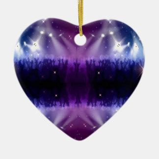 Purple Pattern Ceramic Ornament
