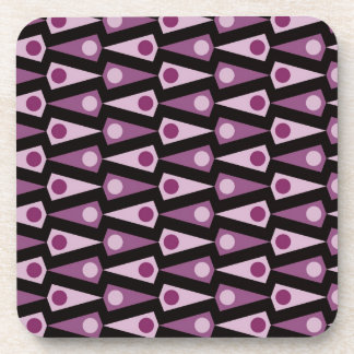 Purple Pattern Coordinating Kitchen Decor Beverage Coaster