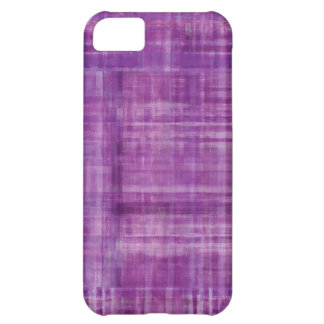 Purple Pattern Cover For iPhone 5C